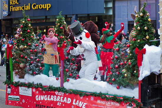 Santa Claus Parade 聖誕老人巡遊 2012