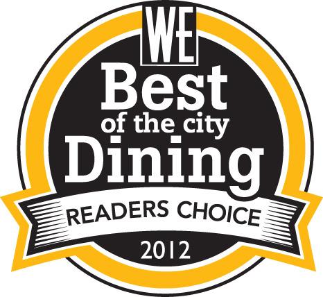 West Ender溫哥華最佳飲食排名2012