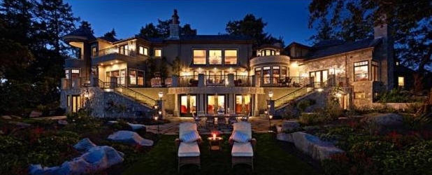 Top luxury homes in b c canada tommy beauty pro for Luxury homes victoria