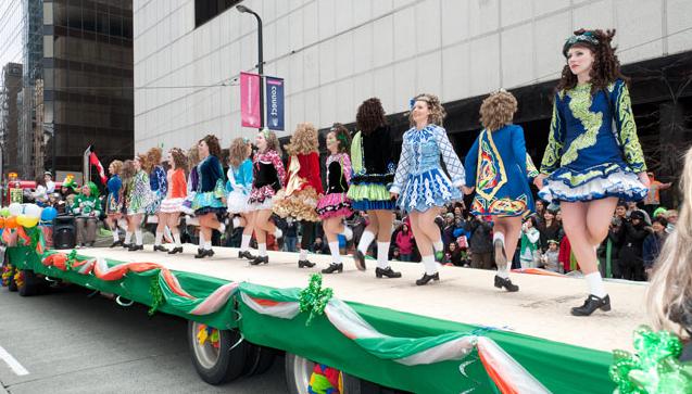 St. Patrick's Day Parade 聖帕特里克節遊行 2013