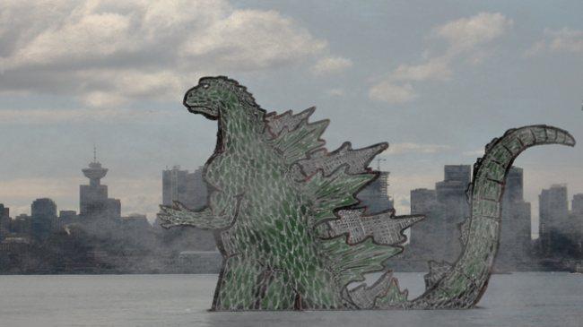 哥斯拉電影開始在溫哥華拍攝