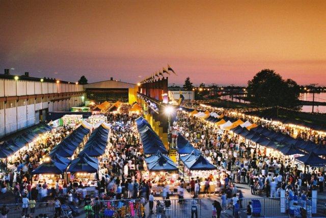 The International Summer Night Market 国际夏日夜市 2015