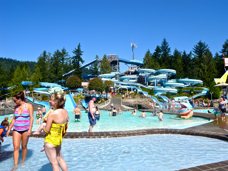 BC省最大水上樂園Cultus Lake Waterpark