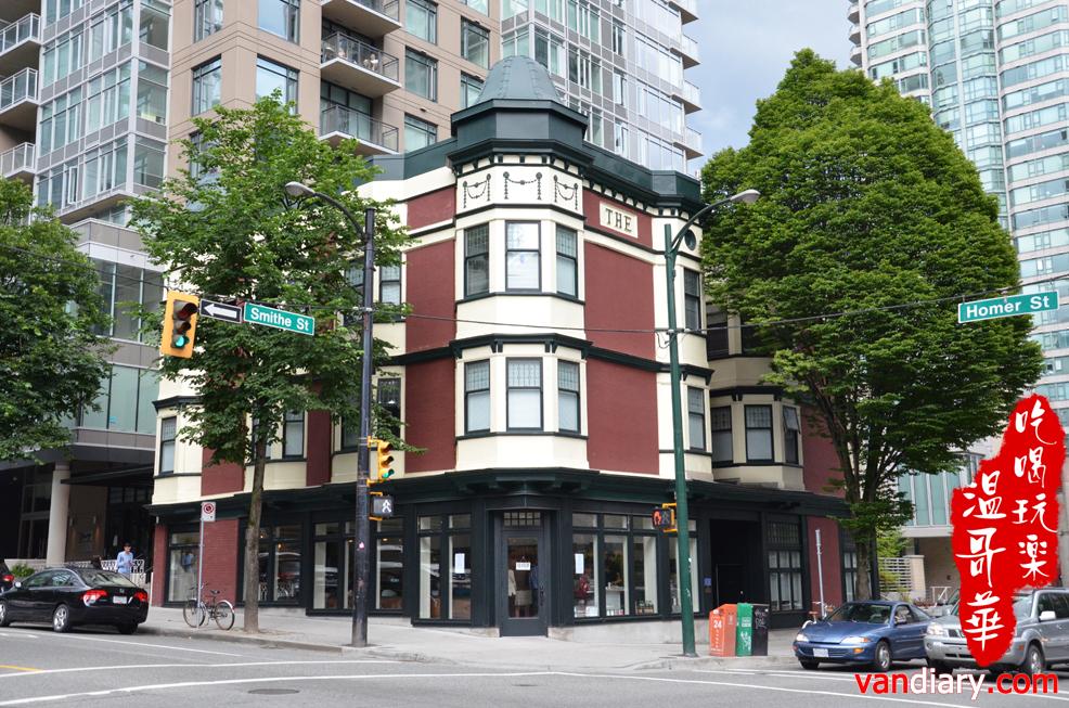 Homer街上的休閒新去處Homer St. Cafe and Bar
