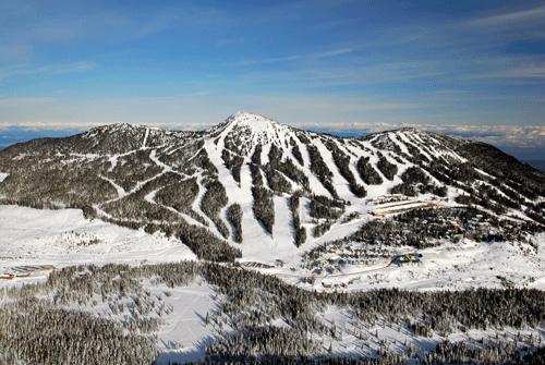 溫哥華島滑雪成新熱點 銀峰起伏景色壯觀