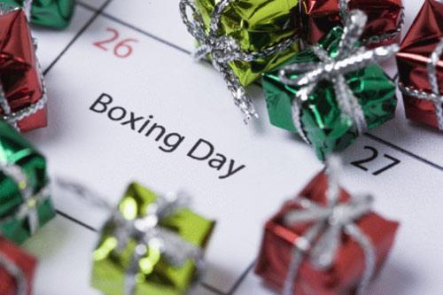 Boxing Day 節禮日 2013