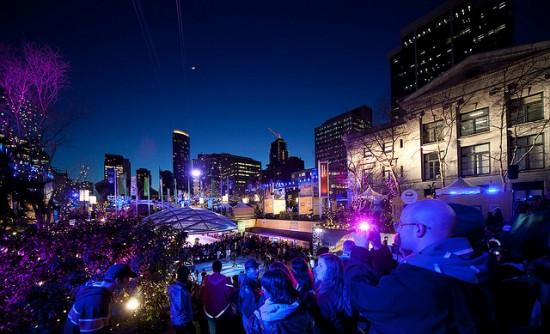 温哥华元旦跨年活动2013图片