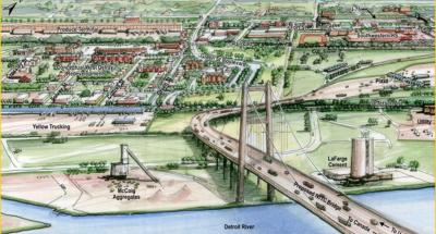 溫莎跨境新橋 全由加國出錢