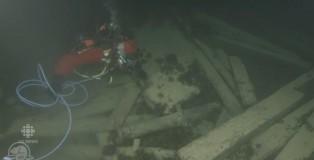 加拿大公園局直播海底探索沉船