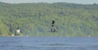 加拿大男子創下懸浮滑板最遠飛行距離紀錄
