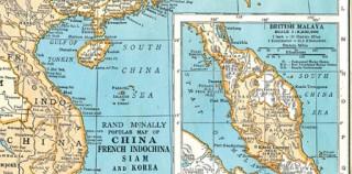温哥华现美国制地图 显示南海属于中国