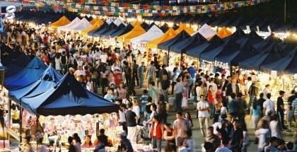 Plaza of Nations Saturday Market 萬國廣場夜市2015