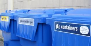 溫哥華市回收新規新增玻璃瓶+罐回收桶