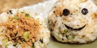 Cloverleaf风味食谱:西红柿洋葱吞拿鱼饭团