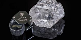 一个多世纪以来 重新发现1111克拉大钻石