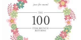献礼母亲节 Glowbal母亲节早午餐自助餐 超过100种选择