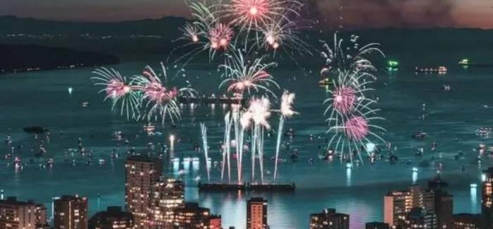 【温哥华国际烟花汇演】加拿大建国150周年的参赛国有哪些?什么时候开始?